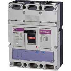 Автоматичний вимикач ETIBREAK EB2 800/3L 630A 3P 36kA рег. зах. (тепл. (0,63-1)*In / ел.магн. (5-10)*In)  4672150 ETI