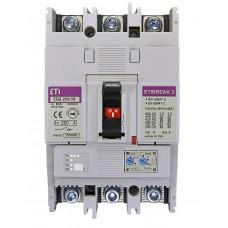 Автоматичний вимикач ETIBREAK EB2 250/3S 200A 3p 4671082 ETI