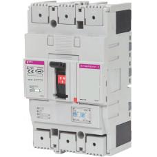 Автоматичний вимикач ETIBREAK EB2 250/3S 160A 3P 36kA рег. защита  (тепл. (0,63-1)*In / эл.магн. (6-13)*In)  4671081 ETI