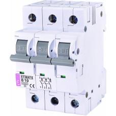 Автоматичний вимикач ETIMAT 6 3p B10, 2115514, ETI