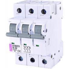 Автоматичний вимикач ETIMAT 6 3p B32, 2115519, ETI