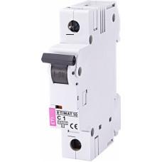 Автоматичний вимикач ETIMAT 10 1p C1, 2131704, ETI
