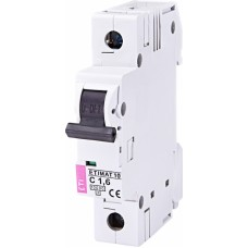 Автоматичний вимикач ETIMAT 10 1P C 16A 10kA 2131707