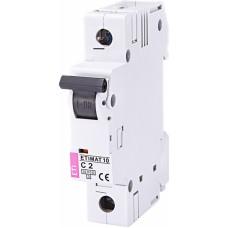 Автоматичний вимикач ETIMAT 10 1p C2, 2131708, ETI