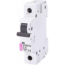 Автоматичний вимикач ETIMAT 10 1p C10, 2131714, ETI