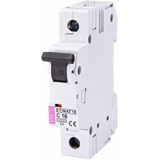 Автоматичний вимикач ETIMAT 10 1P C 16A 10kA 2131716