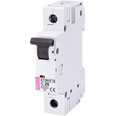 Автоматичний вимикач ETIMAT 10 1p C20, 2131717, ETI