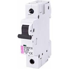 Автоматичний вимикач ETIMAT 10 1p C25, 2131718, ETI
