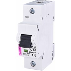 Автоматичний вимикач ETIMAT 10 1P C 80A 20kA 2131731