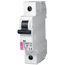 Автоматичний вимикач ETIMAT 10-DC 1p C16 6kA, 2137716, ETI