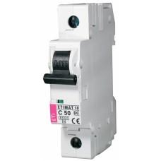 Автоматичний вимикач ETIMAT 10-DC 1p C50 6kA, 2137721, ETI