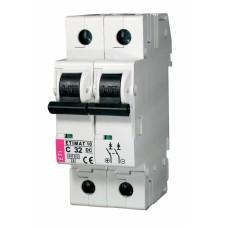 Автоматичний вимикач ETIMAT 10-DC 2p C20 6kA, 2138717, ETI