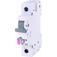 Автоматичний вимикач ETIMAT 6 1P C 16A 6kA 2141516