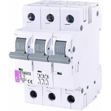 Автоматичний вимикач ETIMAT 6 3p C1, 2145504, ETI