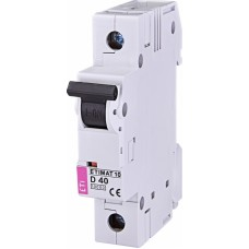 Автоматичний вимикач ETIMAT 10 1P D 40A 10kA 2151720