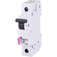 Автоматичний вимикач ETIMAT 10 1P D 50A 6kA 2151721