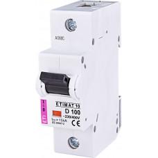 Автоматичний вимикач ETIMAT 10 1P D 100A 6kA 2151732