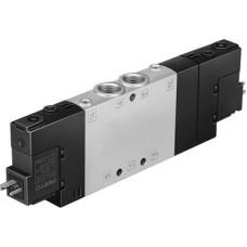 Распределитель с электроуправлением CPE18-M1H-5/3G-1/4 Festo