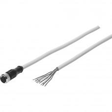 Штекерная розетка с кабелем SIM-M12-8GD-2-PU Festo
