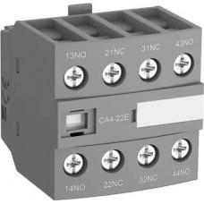 Блок додаткових контактів СА4-22Е (2НО + 2НЗ) для контактів АF26 AF96