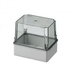 Коробка з високою прозорою кришкою, IP56 150x110x140 мм