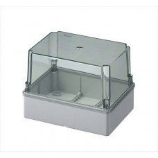 Box with high transparent cover, IP56 190x140x140 mm
