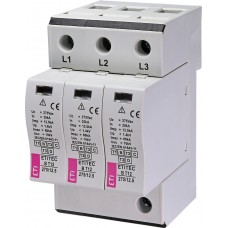 Обмежувач перенапруги ETITEC B T12 275/12,5 (3+0) 3p 2440321 ETI