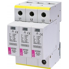 Обмежувач перенапруги ETITEC B T12 275/7 (3+0) 3p 2440340 ETI