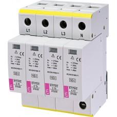 Обмежувач перенапруги ETITEC C T2 275/20 (4+0) 4p 2440395 ETI