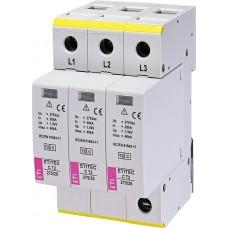 Обмежувач перенапруги ETITEC C T2 275/20 (3+0) 3p 2440399 ETI