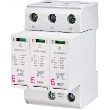 Обмежувач перенапруги ETITEC M T12 300/7 (3+0) 3p 2440504 ETI