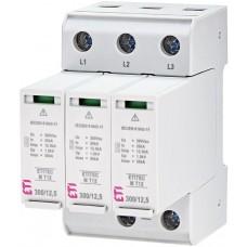 Обмежувач перенапруги ETITEC M T12 300/12,5 (3+0) 3p 2440533 ETI
