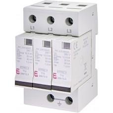 Обмежувач перенапруги ETITEC V T12 280/12,5 (3+0) RC 3p 2442915 ETI