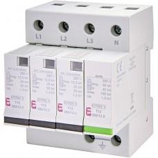 Обмежувач перенапруги ETITEC V T12 280/12,5 (3+1) RC 2442918 ETI