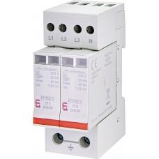 Обмежувач перенапруги ETITEC V 2T2 255/20 (4+0) 4p 2442943 ETI