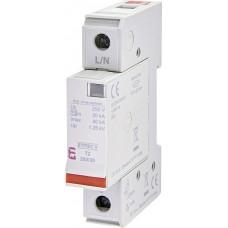 Обмежувач перенапруги ETITEC V T2 255/20 (1+0) 1p 2442952 ETI