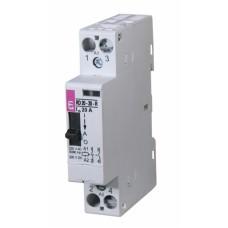 Контактор модульний ETI R-20-20-R 20А 24V DC ручне керування (2464041)