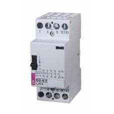 Контактор модульний ETI R-25-04-R 25А 230V AC ручне керування (2464064)
