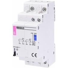 Контактор імпульсний ETI RBS 420-2C 20А 230V AC  2 перекидних (2464139) бістабільне реле