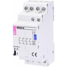 Контактор імпульсний ETI RBS 425-40 25А 230V AC 4NO (2464125) бістабільне реле