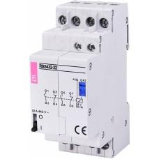 Контактор імпульсний ETI RBS 432-22 32А 230V AC 2NO + 2NC (2464138) бістабільне реле