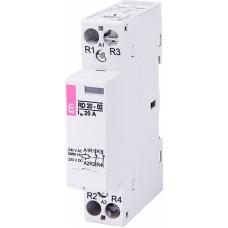 Контактор модульний ETI RD-20-02 20А 230V AC/DC 2NC (2464008)