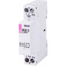 Контактор модульний ETI RD-20-11 20А 230V AC/DC 1NO + 1NC (2464006)