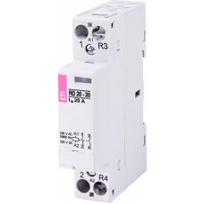 Контактор модульний ETI RD-20-20 20А 230V AC/DC 2NO (2464004)