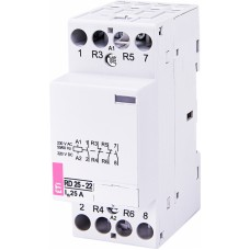 Контактор модульний ETI RD-25-22 25А 230V AC/DC 2NO + 2NC (2464014)