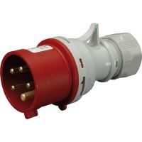 Cable fork EV-1643 IP44 (16A, 400V, 3P + PE), 4482017, ETI