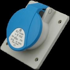 Built-in socket, IE 1632, IP44 (16A, 230V, 2P+PE) SEZ