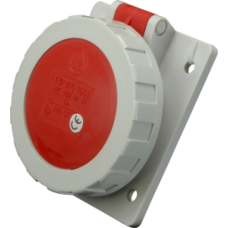 Built-in socket, IEG 1643, IP67 (16A, 400V, 3P+PE) SEZ