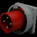 Вилка вбудована, IRGN 12543, IP67 (125A, 400V, 3P + PE) SEZ