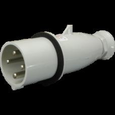 Вилка кабельна IV 6343, IP44 (63A, 400V, 3P + PE) SEZ